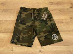 Vans By Fleece Shorts Boys Camo Youth Medium  ( VN0A4TT9CMA ) NWT!!!