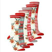 Christmas Socks Women's Men Cute Winter Soft Warm Stocking Hosiery Xmas Gift