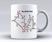 Circuito di Silverstone PISTA TAZZA FORMULA 1, Novità Regalo Tazza Caffè Tè 10oz