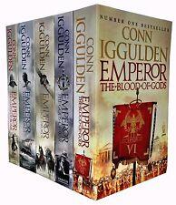 Conn Iggulden Emperor Series 5 Books Collection Set Blood Of Gods, Death Of King
