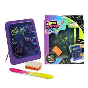 blackboard Neon Drawing Board Light Glow Board junior Drawing doodling kids fun