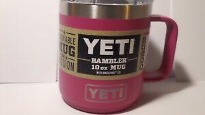 YETI, Rambler 10 oz mug , w/ mag slider lid, Prickly Pear, NEW and authentic!