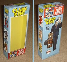 "MEGO 8"" CLARK KENT ALTER EGO CUSTOM BOX ONLY"