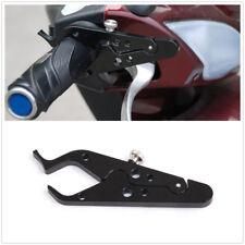 Universal Motorcycle Cruise Control Throttle Lock Assist Retainer Grip Black CNC