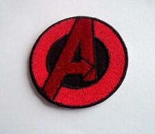 1x Marvel Avengers Logo Patches Embroidered Cloth Applique Badge Iron Sew On