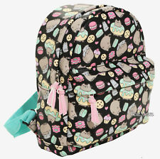 Pusheen The Facebook Cat Donuts Snacks Mini Backpack Faux Leather NWT