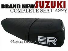 SUZUKI TS125ER TS125 ER COMPLETE SEAT [HP SC + ER LOGO]