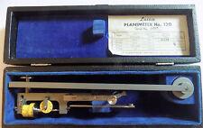 Lasico PLANIMETER #120  Vintage Measuring Instrument In Case w/ Instructions