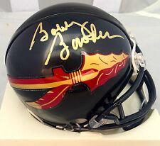 Bobby Bowden Signed Florida State Seminoles Black Mini Helmet Jsa