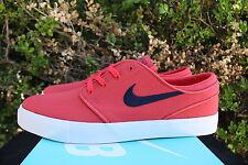 Nike Zoom Sb Stefan Janoski Lona Talla 8.5 Pista Rojo Obsidiana Azul 615957 642