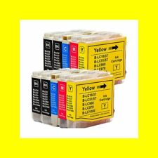 10 x Cartridge for Brother MFC-465CN 5460CN 5860CN 660CN 665CW LC1000
