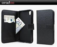 avadoo® Medion Life X5004 Flip Case Schutz Tasche Magnet Schwarz