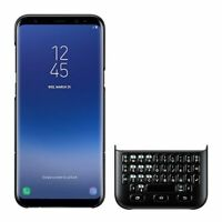 SAMSUNG Custodia Tastiera Originale Keyboard Qwerty per S8 Plus G955F Nero Nuova