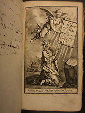 1790 English Book of Common Prayer Church of England PLATES Morocco Leather