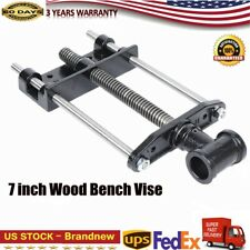 Wood Bench Vise Heavy Duty Woodworking Tool Adjustable Woodworker Vise 7 inch