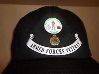 Royal Green Jackets Veteran cap free postage.