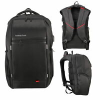 "15.6""/17.3'' Waterproof  Laptop Backpack & USB Port Business School Travel Bag"