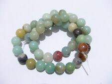 1filo/47pz perline pietre in Amazzonite  naturale 8mm  bijoux