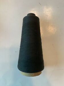 Vintage large spool of thread Black Color American thread L. Cohen & Sons Inc.