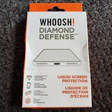 WHOOSH! DIAMOND DEFENSE Liquid Screen Protection Packs Preventing Screen Scratch