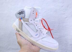 Air Jordan 1 OFF-WHITE Beaverton Oregon USA White Color