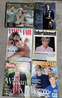 Lot Of 6 Mags/books The Prince (Charles & Princess (Diana Of Wales-line Succesio