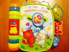 Vtech Rhyme & Discover Book - Electronic Interactive Stories & Songs Gently Used