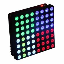 8x8 RGB LED Matrix Common Anode Diffused Full Colour for Arduino