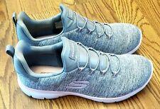 Skechers 12983 Summit Quick Getaway Memory Foam Athletic Shoe Size 8 Grey/Pink