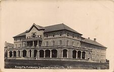 SD - REAL PHOTO 1910's State Hospital for Women at Yankton, South Dakota