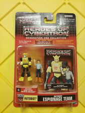 Transformers HOC Heroes Of Cybertron G1 Bumblebee & Spike  NEW FREE SHIP