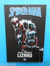 le storie indimenticabili spider man n. 10 dove striscia lizard supereroi marvel