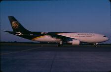 ZRH18  Original aircraft slide/Dia  UPS A300 N159UP - Kodachrome