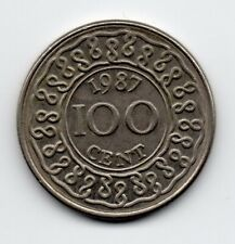 Suriname - 100 Cent 1987
