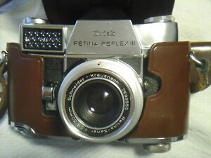 Kodak Retina Reflex III 3 Spiegelreflexkamera Schneider Kreuznach 2,8/50 mm TOP