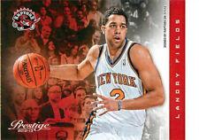 2012-13 Prestige #46 Landry Fields Toronto Raptors NM Basketball Single
