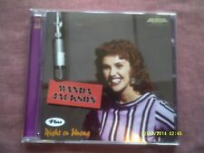 WANDA JACKSON-WANDA JACKSON + RIGHT OR WRONG REMASTERED CD + BONUS TRACKS