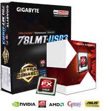 AMD FX4300 QUAD CPU GIGABYTE 78LMT-USB3 MOTHERBOARD GAMING UPGRADE BUNDLE