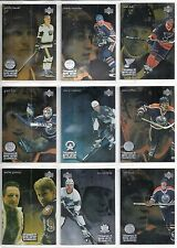 1998-99 UD / McDonald's 60-card Ice + Moments + Team Mates Hockey Set   Gretzky
