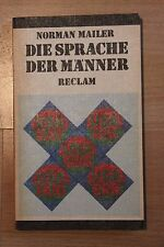Norman Mailer: Die Sprache der Männer (PB 1985)