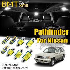 13x White Car Interior LED Light Package Kit for Nissan Pathfinder R50 1996-2004