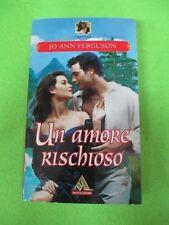 book libro romanzo Jo Ann Ferguson UN AMORE RISCHIOSO Mondadori 2002 (L81)