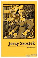 WAG RAG #4 minicomix JERZY SZOSTEK underground comix Poopsheet mini-comic zine