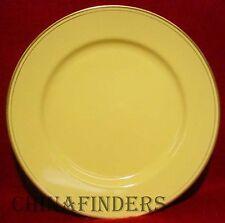 "FITZ & FLOYD china PAVILLON YELLOW pattern Charger/Service Plate @ 12"""