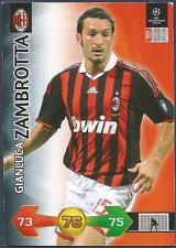 PANINI UEFA CHAMPIONS LEAGUE 2009-10 TRADING CARD-AC MILAN-GIANLUCA ZAMBROTTA