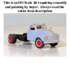 "HO SCALE: ""1949-53 STUDEBAKER CAB & CHASSIS"" by Sylvan-Kit #V-130"
