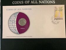 BARBADOS COINS OF ALL NATIONS 25 CENTS 1979 SPECIAL UNC ISSUE 523 MINTED