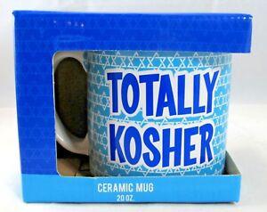 Totally Kosher Large 20 oz. Ceramic Mug in Box - TMD Holdings (New)