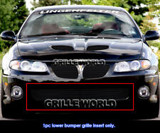 Fits 2004-2006 Pontiac GTO Black Billet Main Upper Grille Insert