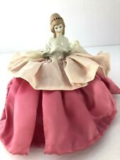 Vintage 1930's German Half Doll Pin Cushion